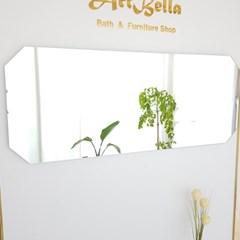 아트벨라 노프레임 팔각 전신 거울