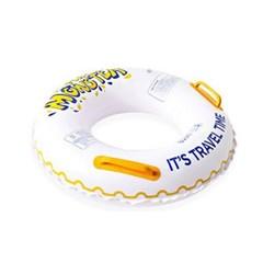 원형 PVC 물놀이 수영장 아동 성인용 손잡이 튜브
