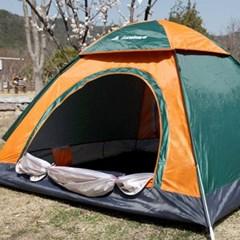 감성 캠핑 4인용 가족 패밀리 자동 원터치 텐트