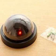 방범용 모형 감시카메라 1개