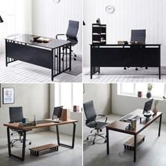 컴퓨터책상 사무용 책상 1인 노트북 인테리어 테이블_(3054686)