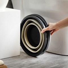 세차 청소용 바스켓 양동이 폴딩형 접이식 다용도 바구니