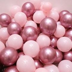 핑크 크롬 풍선 (10p/1set)