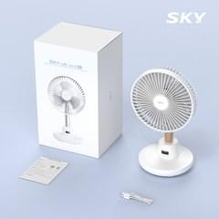 스카이 케어 윈드 400 무선 탁상용 선풍기 C타입 SKY-WD400