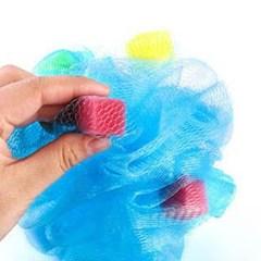 다용도 큐브 샤워타올 1개(색상랜덤)
