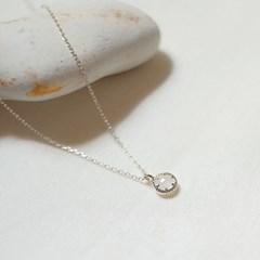 Moonstone healing necklace