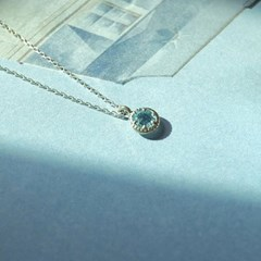 Aquamarine healing necklace