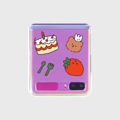 Strawberry time(Z플립-투명하드)_(1598096)