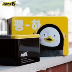 자이언트펭TV 펭수 세면타월 3P 틴케이스 세트