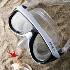 잠수경 투어멀린 고급형 물놀이 잠수 물안경