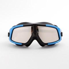 아로아 입체 잠수경(블랙블루)/물안경 수경 스노클링