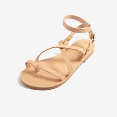 [3Way] Classic Ankle Strap Sandal (natural)
