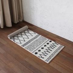 어반 에스닉 주방매트 (아이보리) 45x120cm