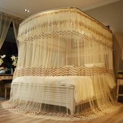 데이스윗 침대 모기장(베이지)(150x200cm)/캐노피