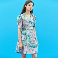 [7/14 예약배송]Drawing Button Dress in Pink