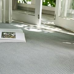 항균 모달 와플 소프트 면 거실 러그 95X150cm_(1820170)