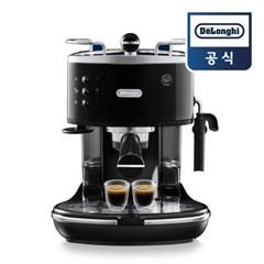 [드롱기] 아이코나 반자동 커피머신 블랙 ECO311.BK_(802511279)