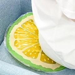 오렌지 아이스 쿨 방석(옐로우) / 여름 아이스방석
