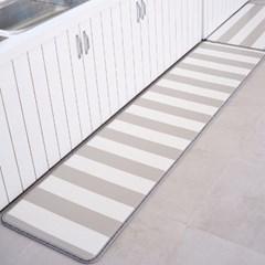PVC 15T 스트라이프 다용도 매트 주방 거실 베란다 쿠션매트
