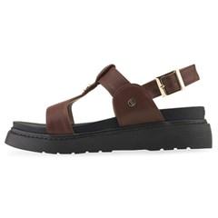 CLLIB[클립] 샌들 PS4425 Glover chunky sandal 다크브라운