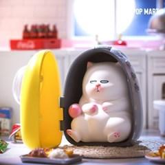 [팝마트코리아 정품 판매처] 비비캣-귀찮은고양이시리즈_랜덤