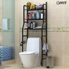 3단 스탠드 높이조절 거실 욕실 다용도 철재 수납 선반