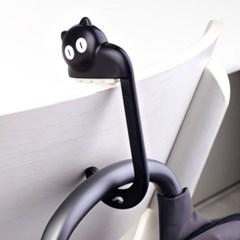 아티아트 휴대용 가방걸이(블랙)