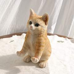 고양이 핸드폰 거치대 치즈 태비