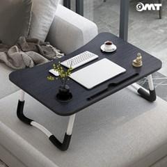 OMT 접이식 컵 태블릿거치가능 원목 거실 소파 좌식 테이블