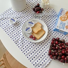 메리 테이블매트 - 블루
