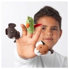 TITTA 손가락 인형 (동물모양)