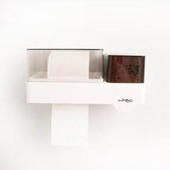 화장실휴지걸이 방수 휴지케이스 접착식 욕실용품