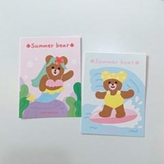 여름베어 미니 엽서 세트 (7ea)