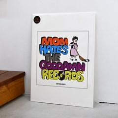 [카멜앤오아시스] Goddamn Records 뮤직 레코드 포스터