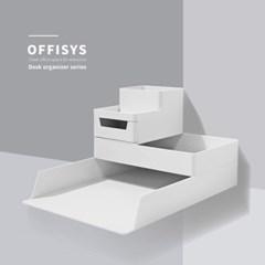 오피스 사무용품 데스크정리 OFFISYS 시스템 트레이_(1212287)