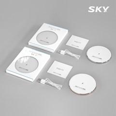 스카이 필 W2 아이언+ 고속 무선충전기 패드 SKY-W2P