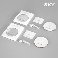 스카이 필 W2 아이언 고속 무선충전기 패드 SKY-W2