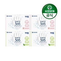 [유한양행]해피홈 SAFE365 비누 핑크포레향+그린샤워향_(2406701)