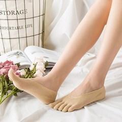 나인투삭스 여성 내발에 쏙 발가락 덧신 양말 S 144