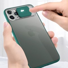 1+1 파스텔 컬러 카메라 슬라이드 커버 케이스