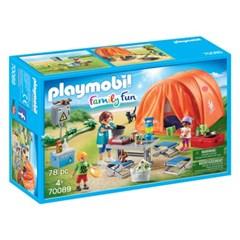 플레이모빌 가족 캠프 70089