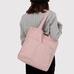 리버시블  Holiday Canvas Bag-Misty Pink