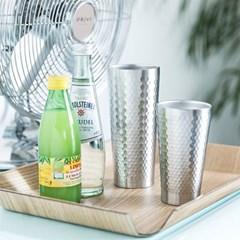 [리본제이]냉장고컵(350ml 510ml 빅사이즈컵) 이중 스텐 보온보냉컵