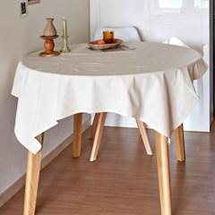 블랭크 광목 정사각 테이블커버 / 광목 식탁보 (RM 283001)