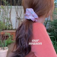 [뮤즈무드] our season scrunchie (스크런치)