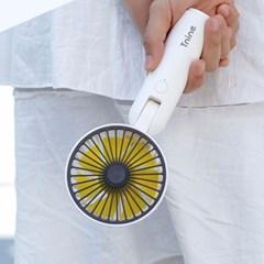 티나인 윈드몬스터 핸디 휴대용 선풍기 옐로우 TN-F828