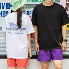 [디즈니] 레터링 티셔츠_버즈(화이트)