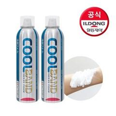 [일동제약]쿨밴드 냉찜질 스프레이(화상,햇볕에 탄피부,_(2409828)