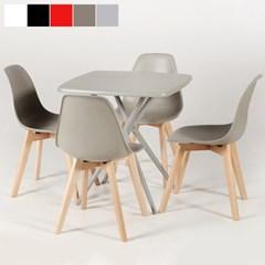 마켓비 ORIGINAL MICHEL MILLOT 마카테이블 + WOODFEL 의자 4개
