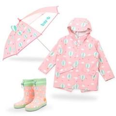 [BAY-B]아동 드리밍 우비 장화 우산 3종세트 에어벌룬_(2811810)